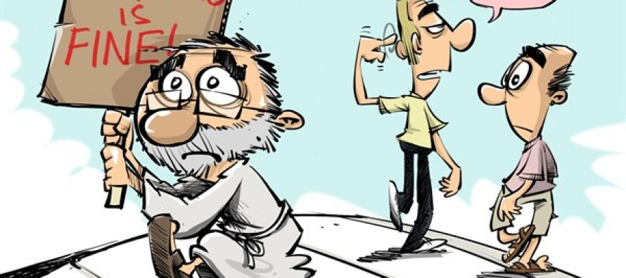 Obmacare Is Fine Color (Cartoon)