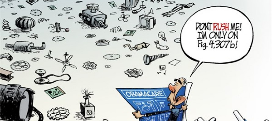 Obamacare Parts (Cartoon)