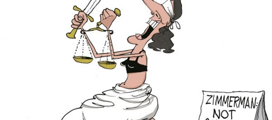 Zimmerman Verdict (Cartoon)