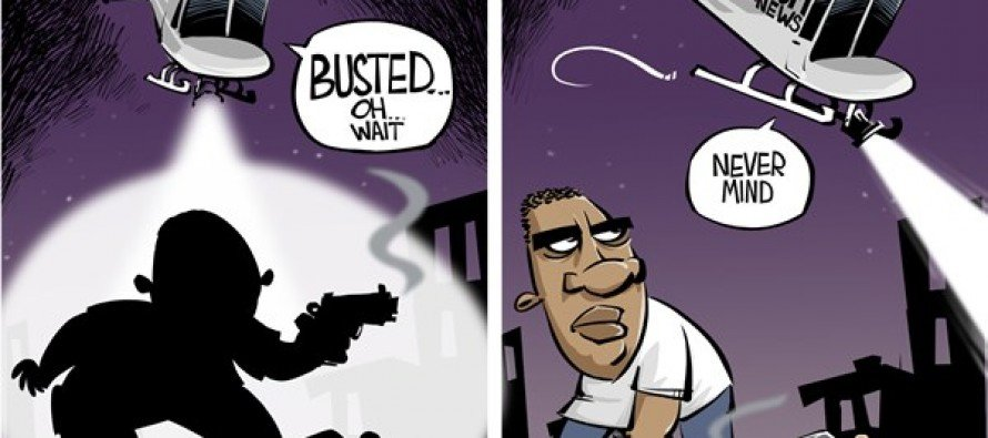 Black On Black Crime (Cartoon)