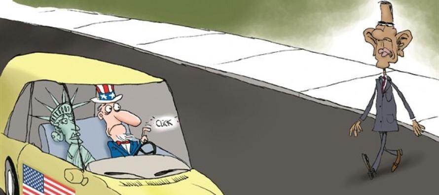 Profiling Obama (Cartoon)