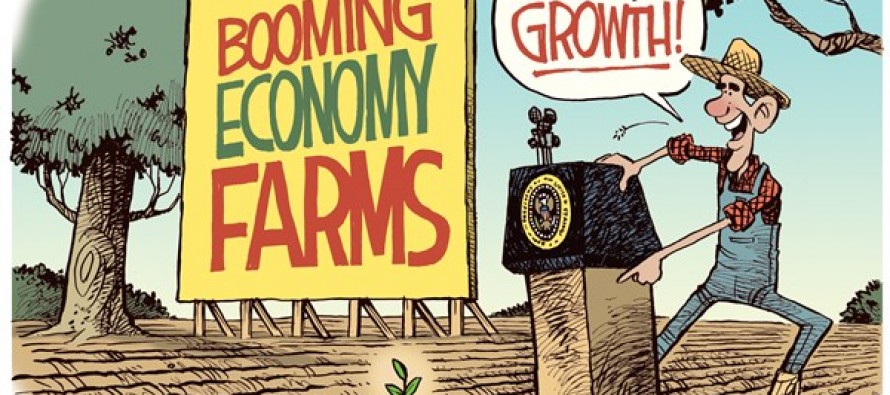 Obama Farms (Cartoon)