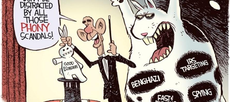 Phony Scandals (Cartoon)