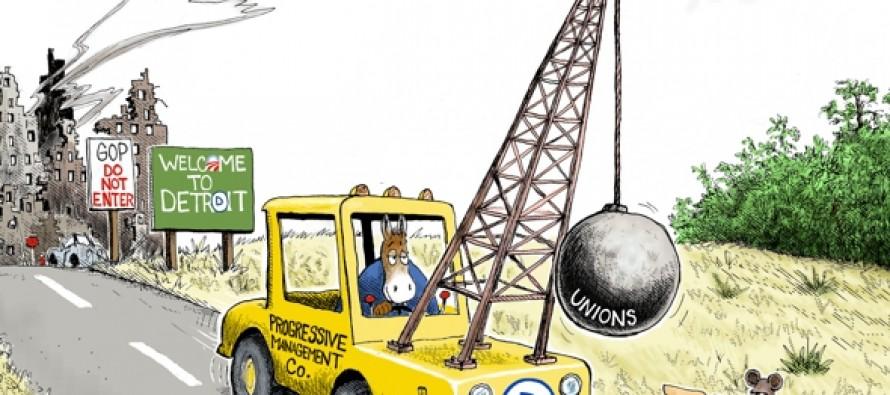 Today Detroit, Tomorrow,,, (Cartoon)