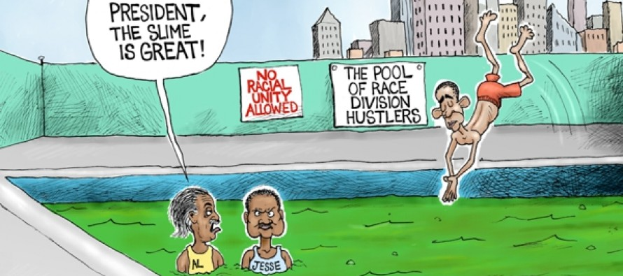 Race Hustler Pool (Cartoon)