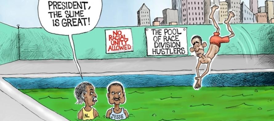 Race Hustler Pool (Cartoon)