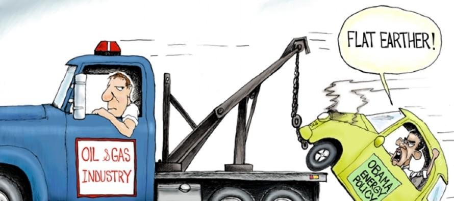 Green In Tow (Cartoon)