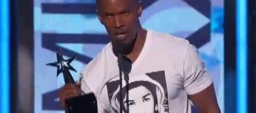 Jamie Foxx Capitalizes on Trayvon Martin's Death