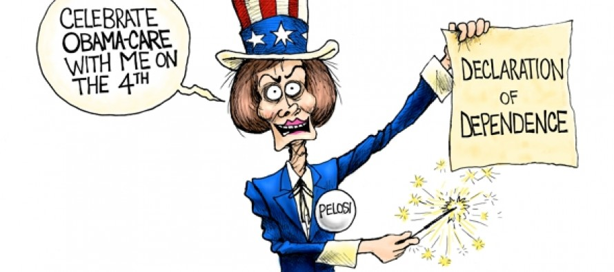 Party with Pelosi (Cartoon)