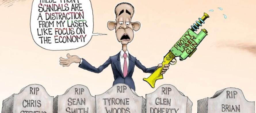 Standing His Ground (Cartoon)