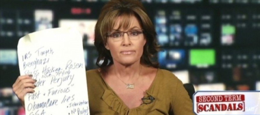 """Sarah Palin: """"I Was Forbidden From Telling the Truth About Obama in 2008"""""""