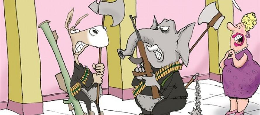 No Bipartisanship (Cartoon)