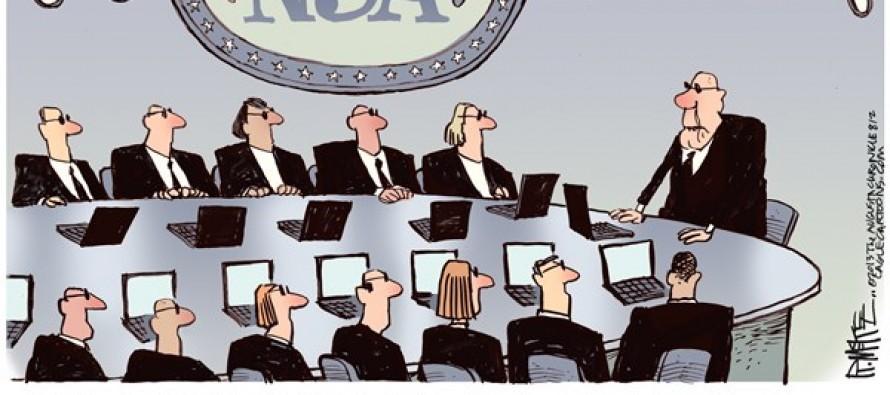NSA Weiner (Cartoon)