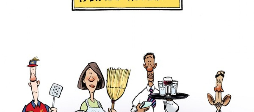 Part-Time Jobs (Cartoon)