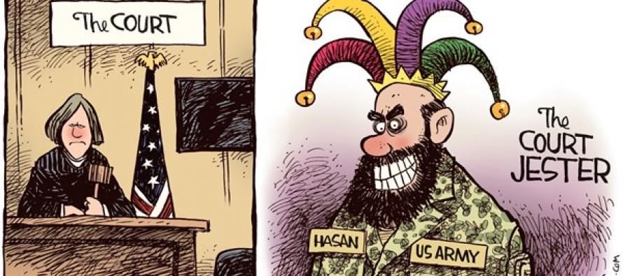 Ft Hood Court Jester (Cartoon)