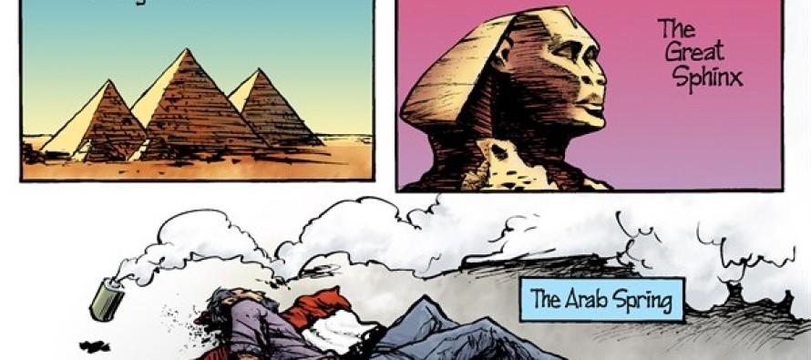 Egypt Violence (Cartoon)
