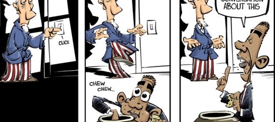 NSA violations (Cartoon)