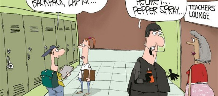 Teachers Back To School (Cartoon)