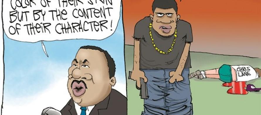 MLK's Shattered Dream (Cartoon)