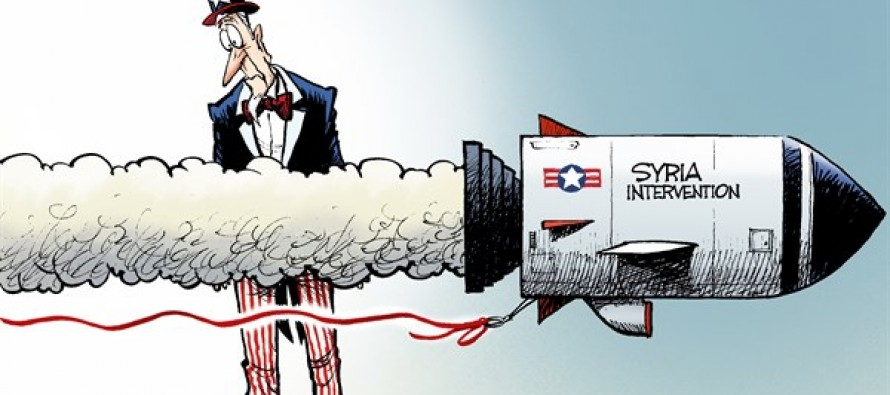 Syria Red Line (Cartoon)