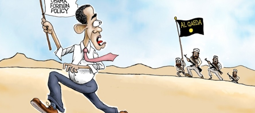 Al Qaeda On The Run (Cartoon)