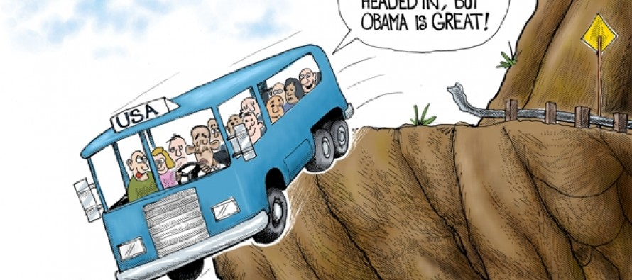Country in Wrong Direction (Cartoon)