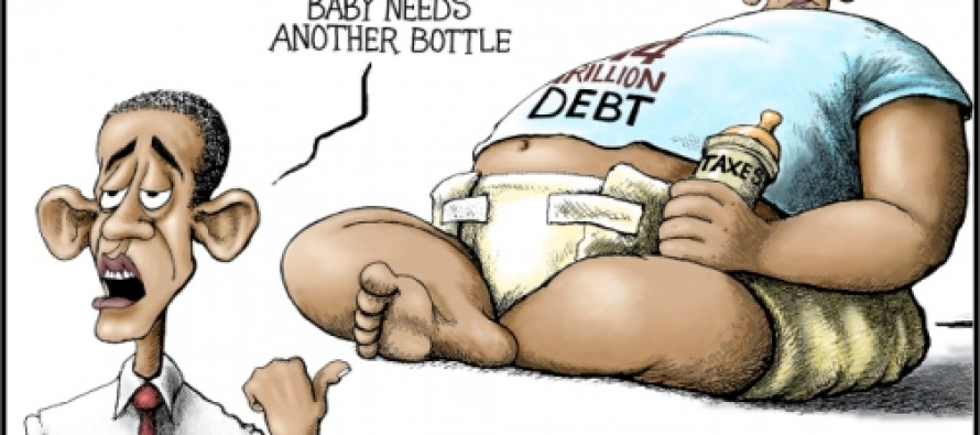 "Past Blast Cartoon ""Debt Baby"" (Cartoon)"