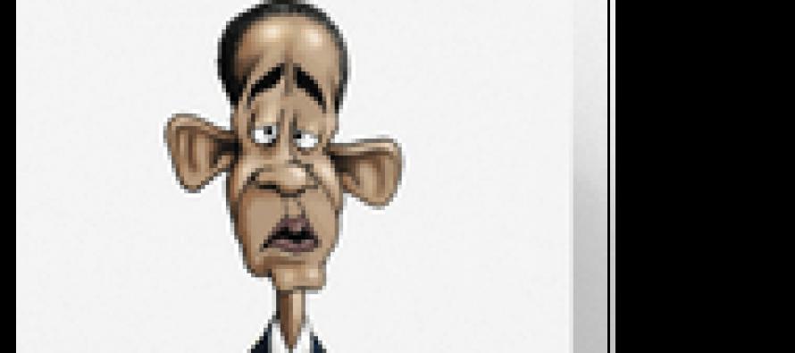 Obama Birthday Card (Cartoon)