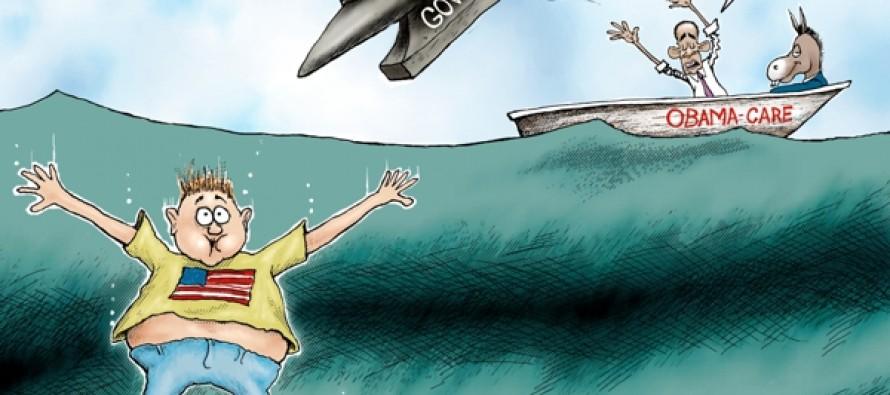 Government help (Cartoon)