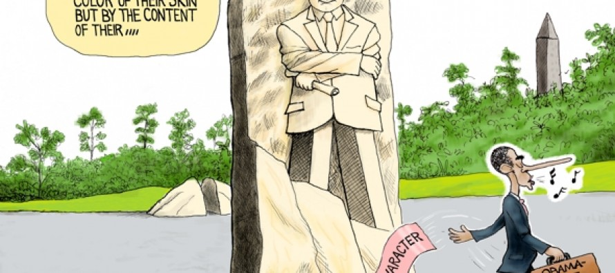 """Past Blast Cartoon"" MLK had a Dream (Cartoon)"