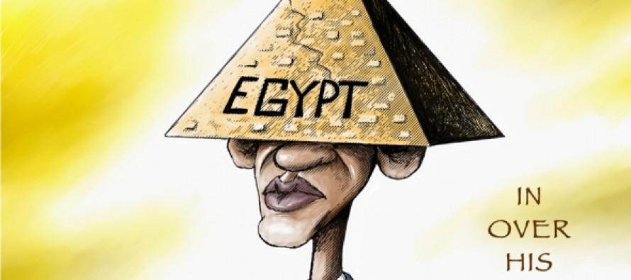 Obama and Egypt (Cartoon)