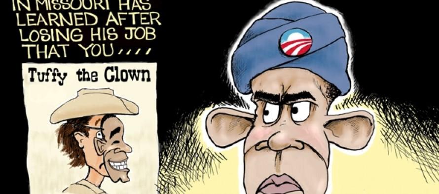 Mocking Obama (Cartoon)
