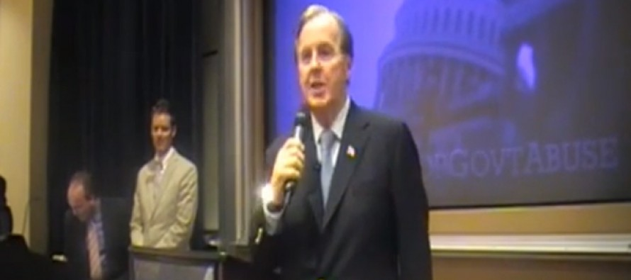 Video: GOP Rep Robert Pittenger Grilled By Tea Party At Town Hall Over Obamacare Funding