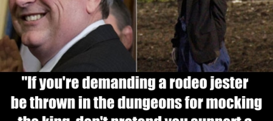 Republican Rep. Steve Stockman Stands Up For The Rodeo Clown's Free Speech
