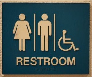 bathroo signs