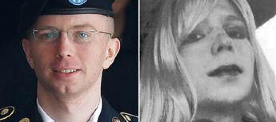 Bradley Manning (Traitor, Male) Wants Taxpayers To Pay For Female Hormone Therapy