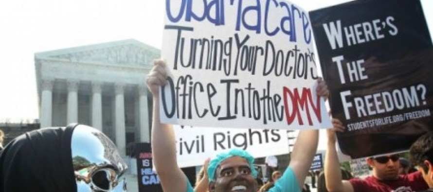 77% of Americans want the individual mandate repealed or delayed-New Obamacare Poll