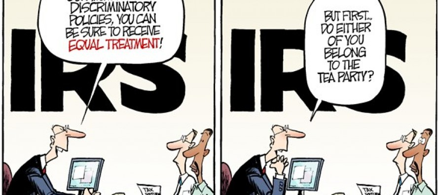 IRS and Gays (Cartoon)