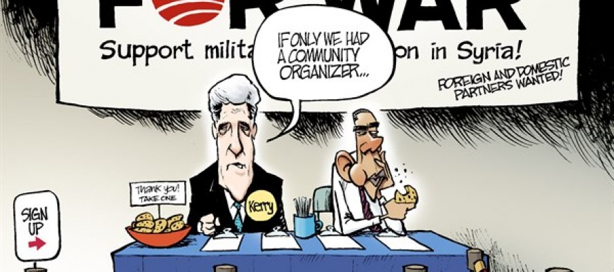 Support for Syria (Cartoon)