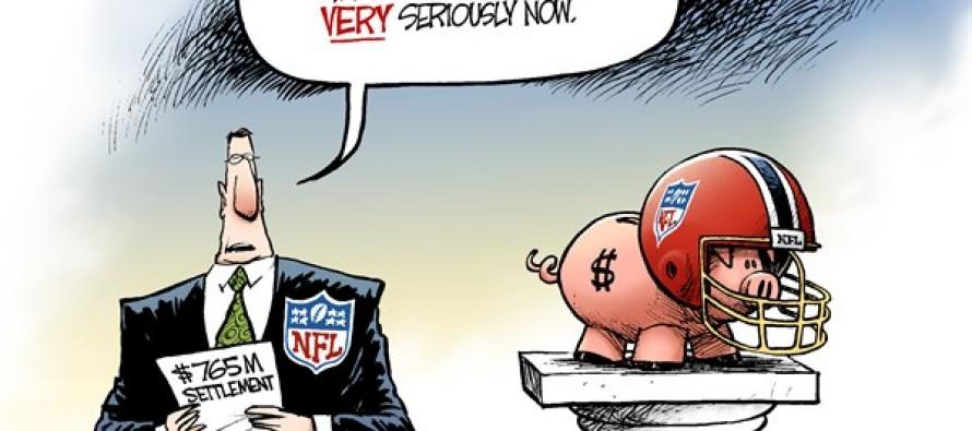 NFL Concussions (Cartoon)