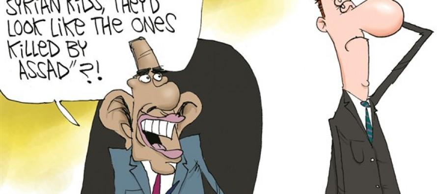 Obama's Syrian Kids (Cartoon)
