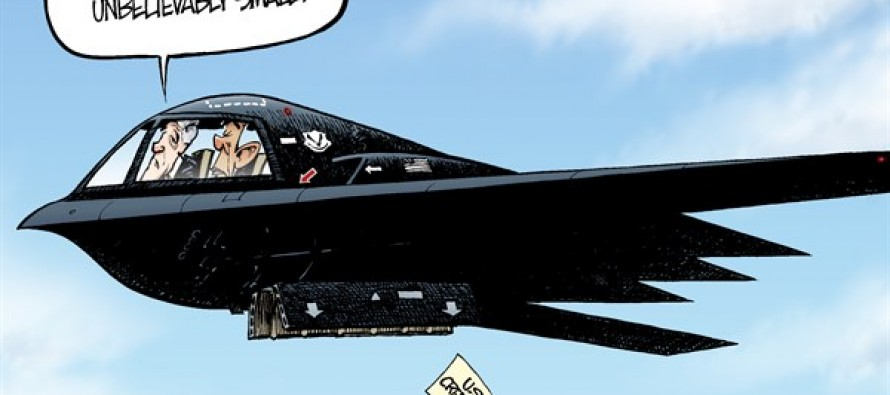 Bombing on Syria (Cartoon)