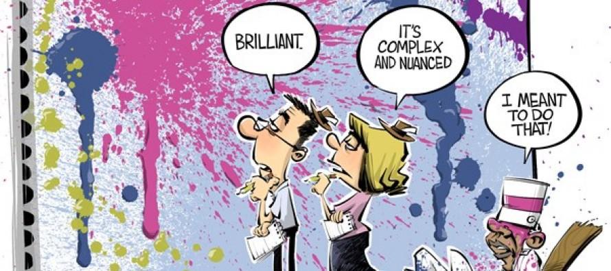 Syria policy (Cartoon)