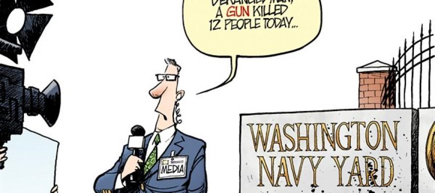 Navy Yard Shooting (Cartoon)