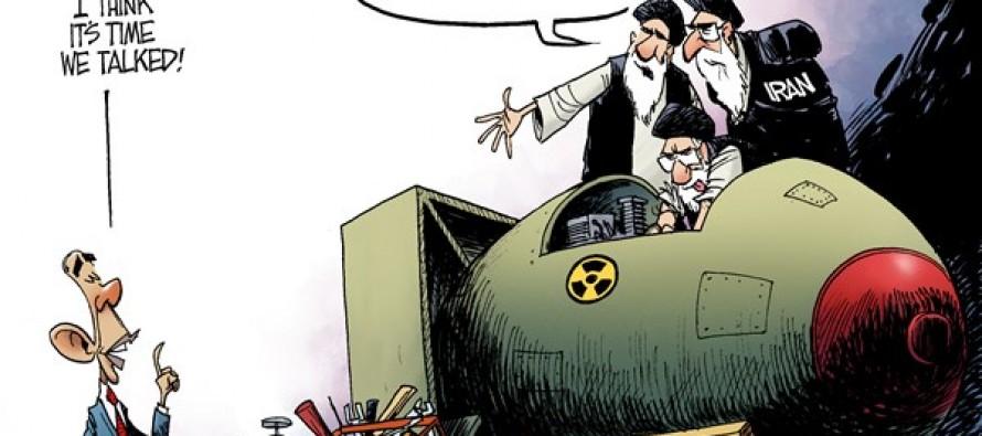 Obama and Iran (Cartoon)