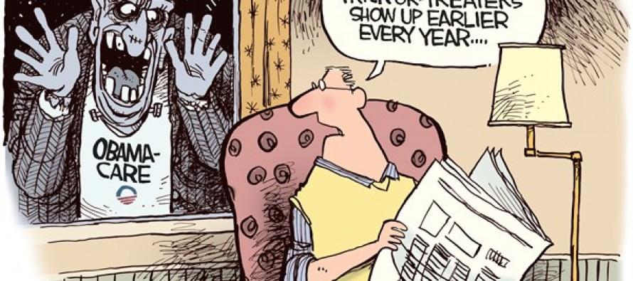 Obamascare (Cartoon)