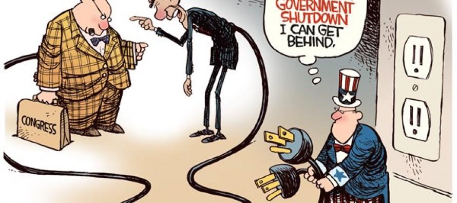 Government Shutdown (Cartoon)