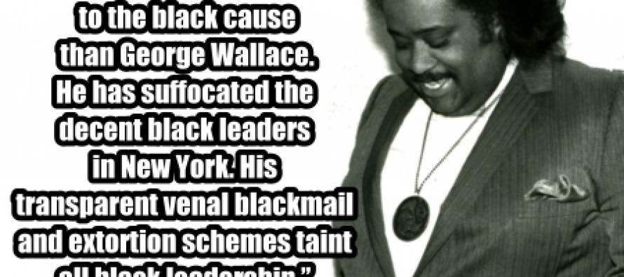 Al Sharpton Has Done More Damage To The Black Cause Than….(Pic)