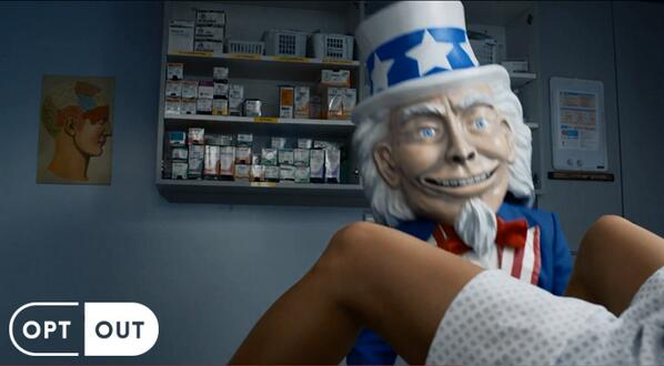 Obamacare's Creepy Uncle Sam