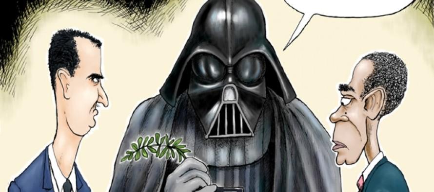 The Dark Side of 'Peace' (Cartoon)